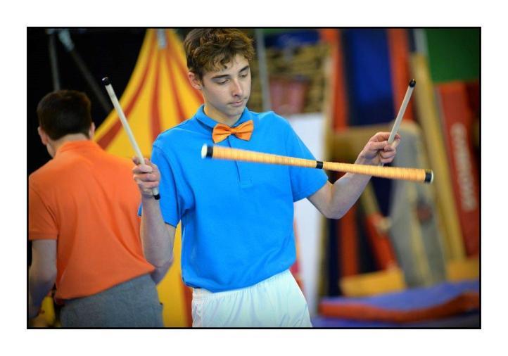 Nicolas: Acrobate / Jongleur